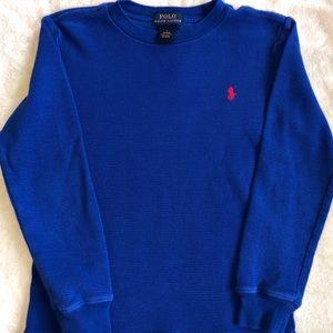 Polo Ralph Lauren Long Sleeve Shirt - Boys Size 7